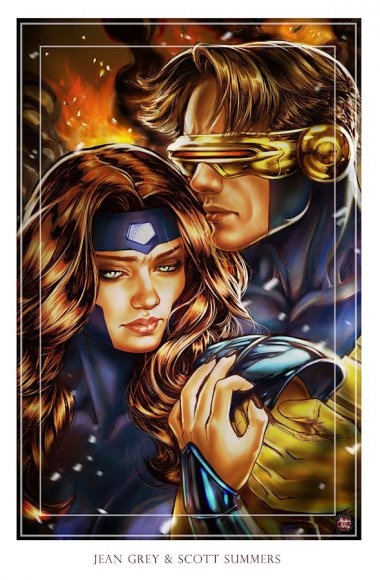 Jean Grey & Scott Summers (Cyclops)