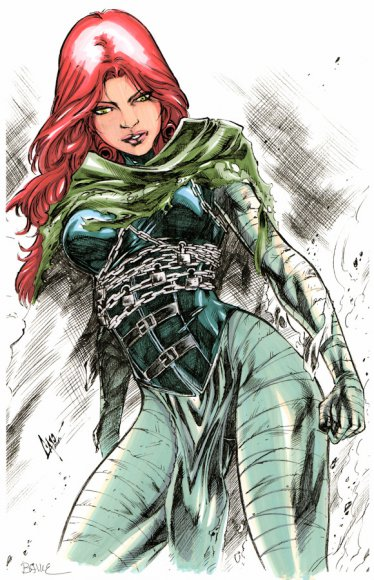 Future Jean Grey from ANXM