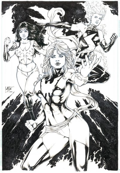 Phoenix (Jean Grey), Ms Marvel & Firebird