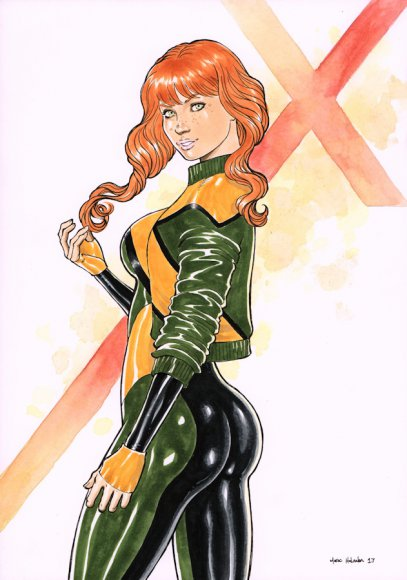 Jean Grey from X-Men Blue
