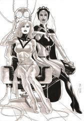 Phoenix (Jean Grey) & Storm